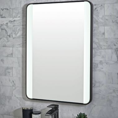 Vellamo LED Illuminated Mirror with Demister Pad & Colour Change LEDs - 1200 x 600mm